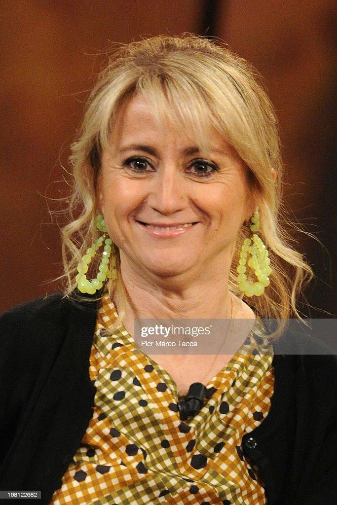 Luciana Littizzetto attends 'Che Tempo Che Fa' TV show on May 5, 2013 in Milan, Italy.