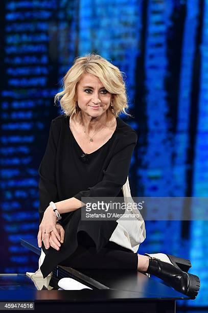 Luciana Littizzetto attends 'Che Tempo Che Fa' TV Show on November 23 2014 in Milan Italy