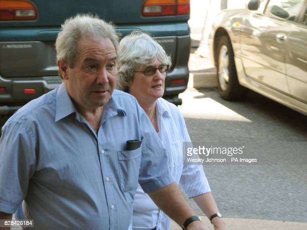 Luciano and Joan Falconio parents of murdered man Peter Falconio arrive at the Northern Territory Supreme Court in Darwin in Australia Tuesday...