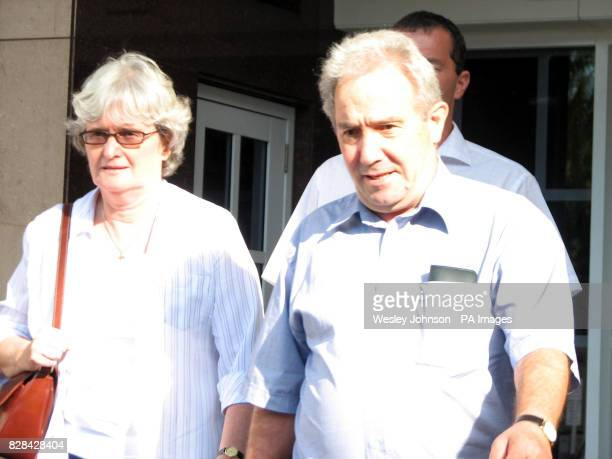 Luciano and Joan Falconio parents of murdered man Peter leave the Northern Territory Supreme Court in Darwin in Australia Samples of DNA taken from...