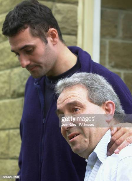 Luciano Falconio the father of Peter Falconio who is missing in Australia with one of his other sons Paul at their home near Huddersfield West...