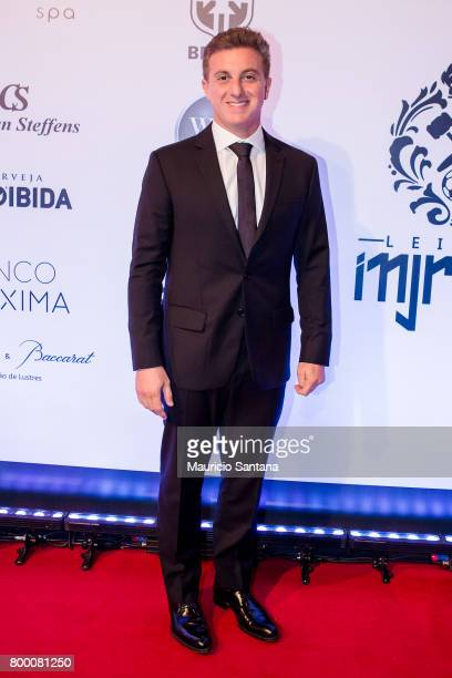 Luciano Huck poses before a benefit auction at Hotel Unique on June 22 2017 in Sao Paulo Brazil
