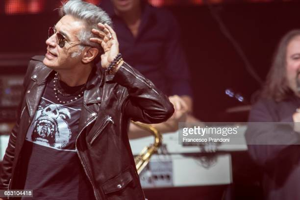 Luciano Ligabue Performs at Mediolanum Forum on March 13 2017 in Milan Italy