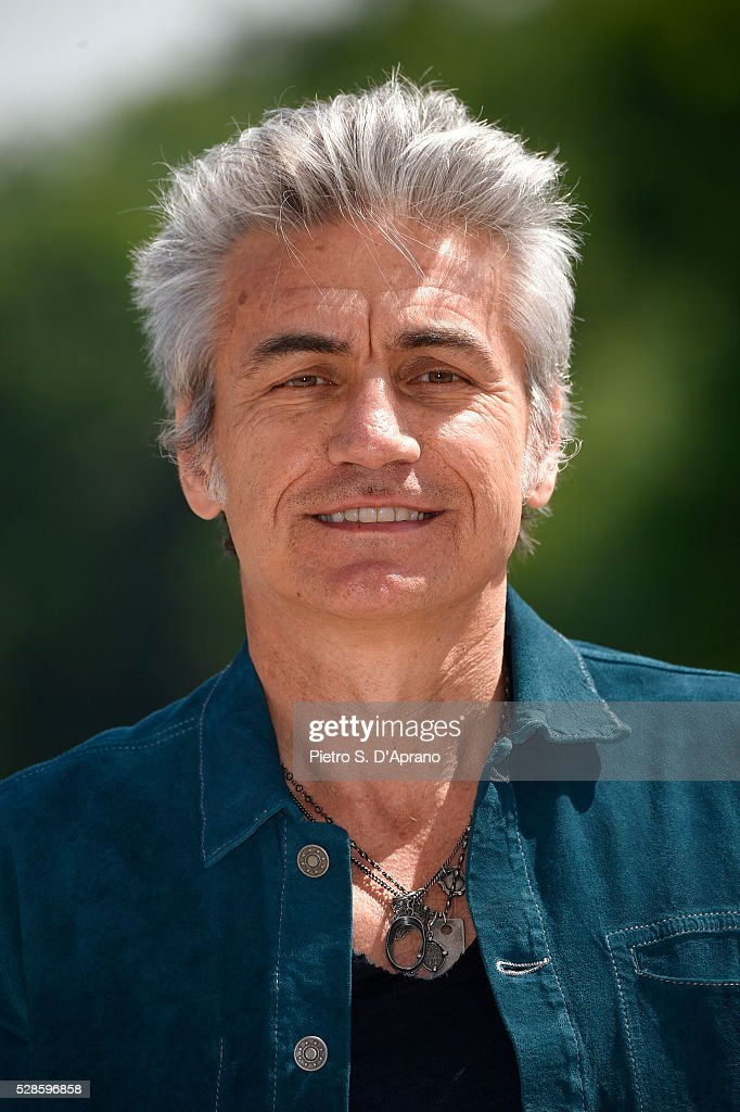 <a gi-track='captionPersonalityLinkClicked' href=/galleries/search?phrase=Luciano+Ligabue&family=editorial&specificpeople=5426358 ng-click='$event.stopPropagation()'>Luciano Ligabue</a> Presents Scusate Il Disturbo on May 6, 2016 in Monza, Italy.