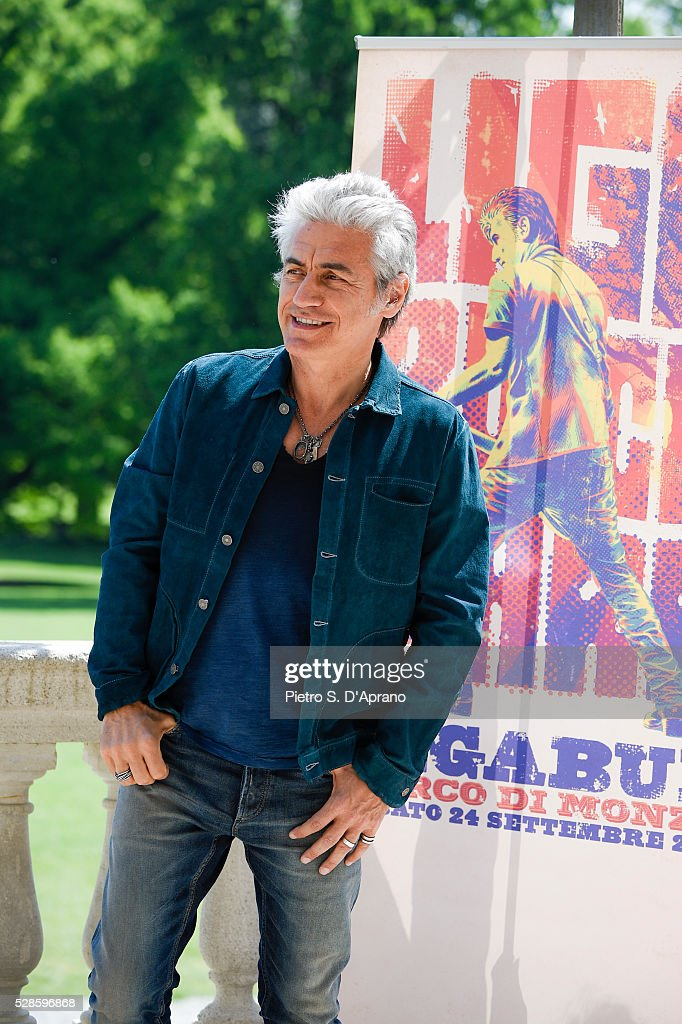 Luciano Ligabue Presents Scusate Il Disturbo on May 6, 2016 in Monza, Italy.