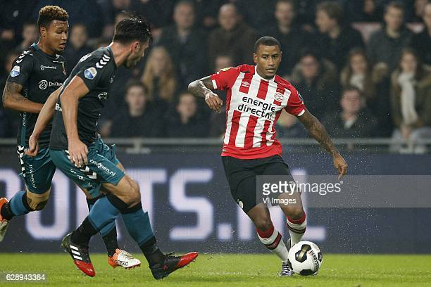 Luciano Narsingh of PSV during the Dutch Eredivisie match between PSV Eindhoven and Go Ahead Eagles at the Phillips stadium on December 10 2016 in...