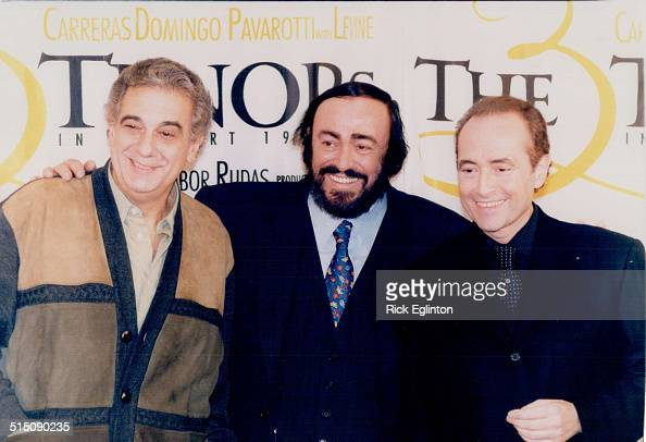 Luciano Pavarotti Three Tenors Tours