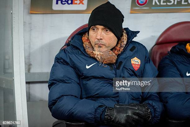 Luciano Spalletti the head coach of AS Roma during the UEFA Europa League 20162017 Group E game between FC Astra Giurgiu and AS Roma at National...