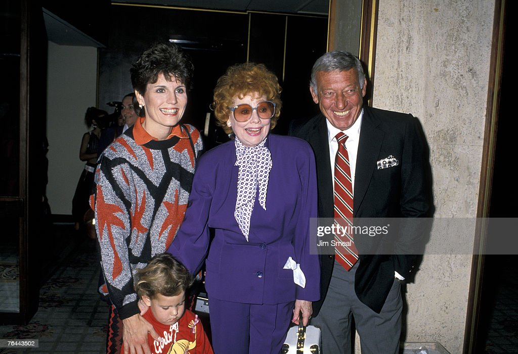 Lucie Arnaz, Katie Luckinbill, Lucille Ball and Gary Morton