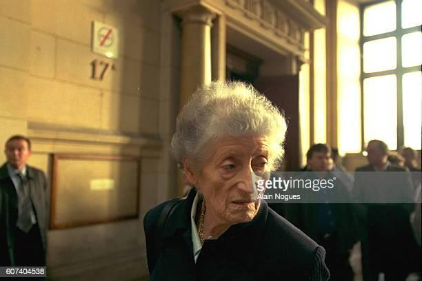 Lucie Aubrac is indignant the 'Aubrac Lyon 1943' reproduces allegations by Klaus Barbie