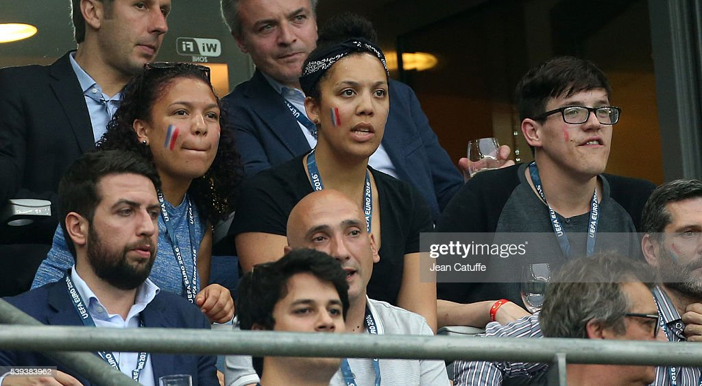 <a gi-track='captionPersonalityLinkClicked' href=/galleries/search?phrase=Lucie+Decosse&family=editorial&specificpeople=609740 ng-click='$event.stopPropagation()'>Lucie Decosse</a> attends the UEFA Euro 2016 Group A opening match between France and Romania at Stade de France on June 10, 2016 in Saint-Denis near Paris, France.