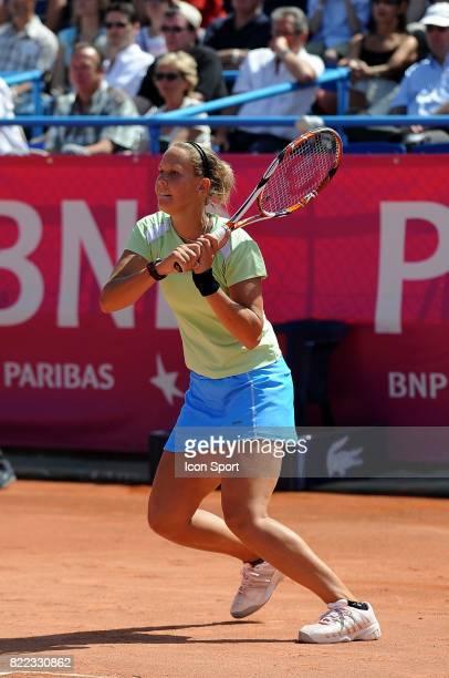 Lucie HRADECKA Finale du Tournoi WTA de Strasbourg 2009