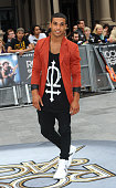 Lucien Laviscount attends the Rock of Ages Premiere on June 10 2012 at the Odeon Cinema in London