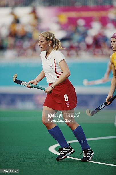 Lucilla Wright Of Great Britain Pictured In Action During The First Round Match Between Australia And