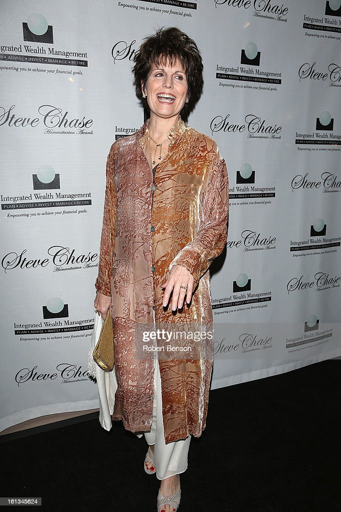 Lucille Arnez at the 19th Annual Steve Chase Humanitarian Awards Gala at the Palm Springs Convention Center on February 9, 2013 in Palm Springs, California.