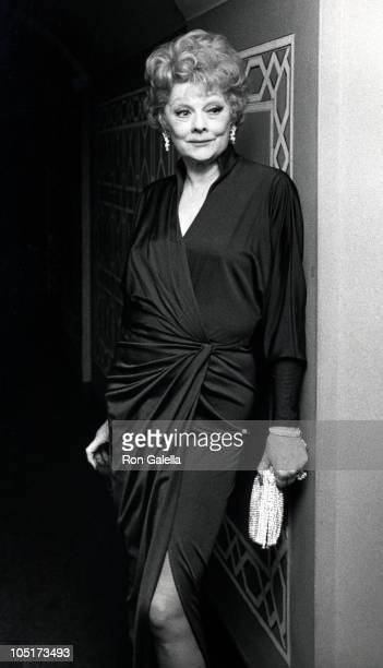 Lucille Ball during Friars' Club Salute to Johnny Carson as 'Entertainer of the Year' 1979 at The WaldorfAstoria Hotel in New York New York United...