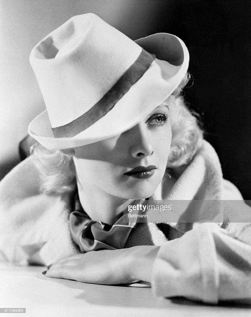 Lucille Ball Warner Bros player wears the 'gondolier' hat newest Hollywood fashion inspired by a Hollywood production Top Hat in which reproductions...