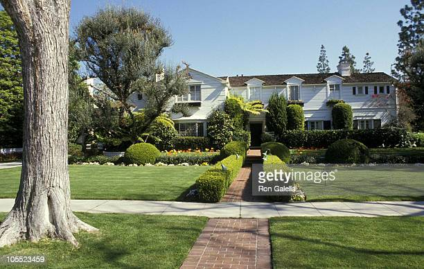 Lucille Ball's House during Photo Shoot at Lucille Ball's House January 1 1987 in Beverly Hills California United States