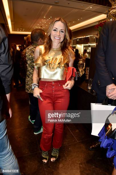 Lucinda Loya and Baccarat celebrates The French Style Issue with ELLE DECOR on September 13 2017 in New York City