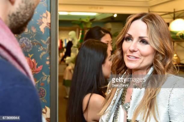 Lucinda Loya attends the Marble Accessories Debut by Designer Spiros Soulis on the Seventh Floor at Bergdorf Goodman on April 26 2017 in New York City