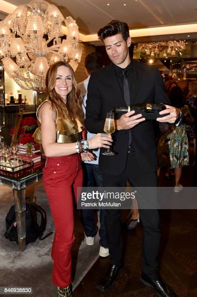 Lucinda Loya Sean Russell and Baccarat celebrates The French Style Issue with ELLE DECOR on September 13 2017 in New York City