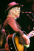 Lucinda Williams guitar and vocals performs at the Paradiso on May 12th 2003 in Amsterdam Netherlands
