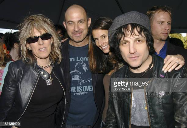 Lucinda Williams John Varvatos Joyce Vylververg and Jesse Malin