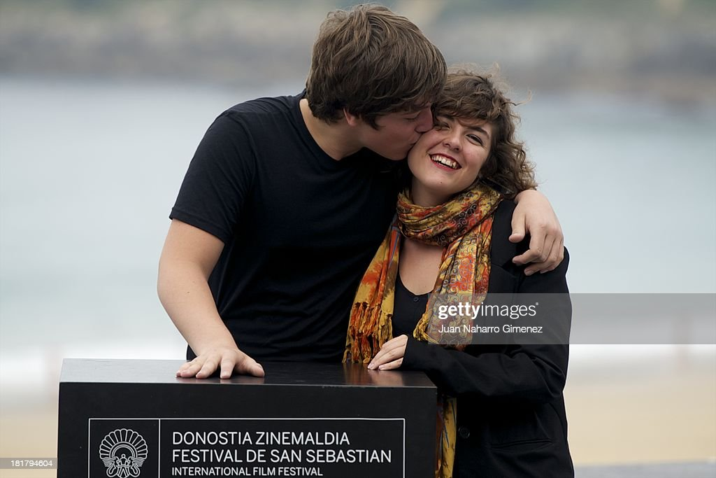Lucio Gimenez and Danae Reynaud attend the 'Club Sandwich' photocall at Kursaal during 61st San Sebastian International Film Festival on September 25, 2013 in San Sebastian, Spain.