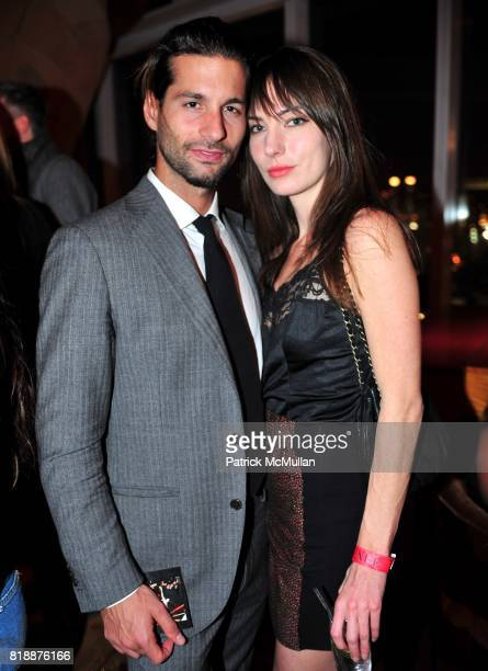 Lucio Salvatore and Katharine O'Brien attend NOWNESS Presents the New York Premiere of JeanMichel Basquiat The Radiant Child at MoMa on April 27 2010...
