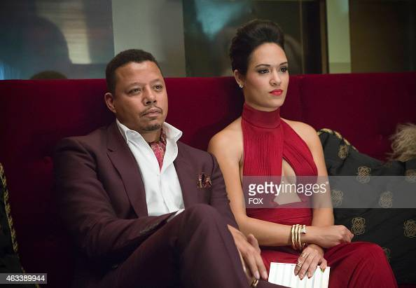 Lucious and Anika watch Hakeem and Jamal perform in the 'Outspoken King' episode of EMPIRE airing Monday Jan 14 2015 on FOX