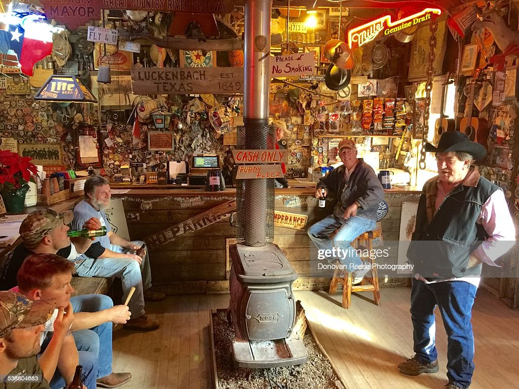 Luckenbach Texas 12015 Cowboy telling western stories