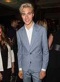 Lucky Blue Smith attends the Business Of Fashion 500 Gala Dinner during London Fashion Week Spring/Summer 2016 on September 21 2015 in London England