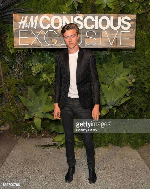 Lucky Blue Smith attends the HM Conscious Exclusive Dinner at Smogshoppe on March 28 2017 in Los Angeles California
