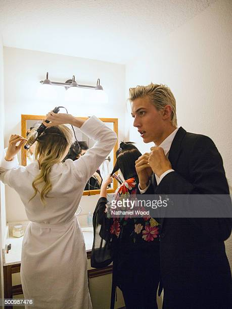 Lucky Blue Smith is photographed for Teen Vogue Magazine on October 2 2015 in Los Angeles California ON DOMESTIC EMBARGO UNTIL JANUARY 3 2016 ON...
