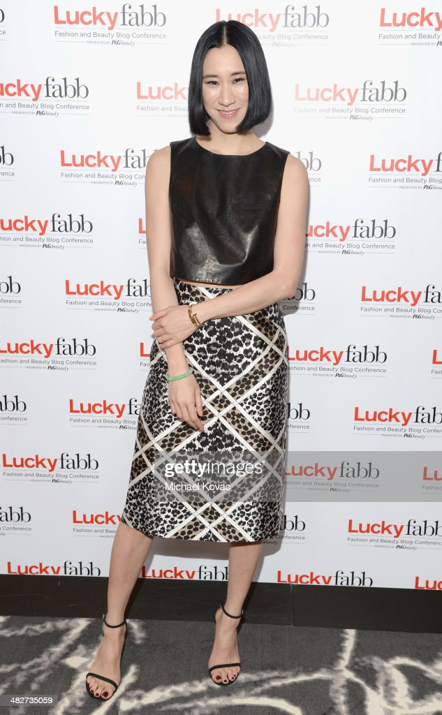 Lucky, Editor In Chief, Eva Chen attends Lucky