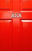 Lucky front door number