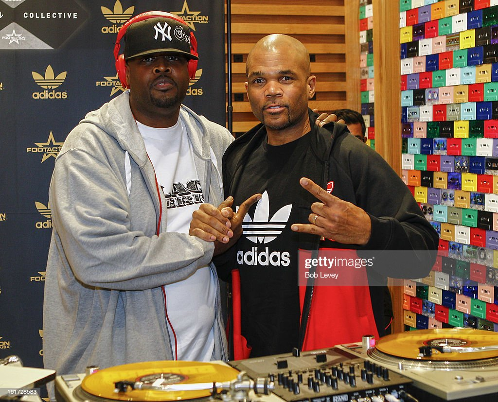 A lucky selection of VIP's were chosen to attend the grand opening of a brand new retail experience - adidas Originals Collective by Footaction, in the Willowbrook Mall, February 14, 2013 in Houston, TX. Special guests like Big Sean and DMC helped celebrate while DJ Clark Kent delivered excellent beats.