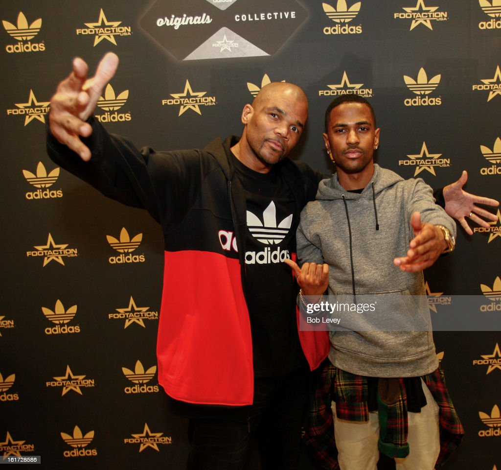 A lucky selection of VIP's were chosen to attend the grand opening of a brand new retailexperience - adidas Originals Collective by Footaction, in the Willowbrook Mall, February 14, 2013 in Houston, TX. Special guests like <a gi-track='captionPersonalityLinkClicked' href=/galleries/search?phrase=Big+Sean&family=editorial&specificpeople=4449582 ng-click='$event.stopPropagation()'>Big Sean</a> and DMC helped celebrate while DJ Clark Kent delivered excellent beats.