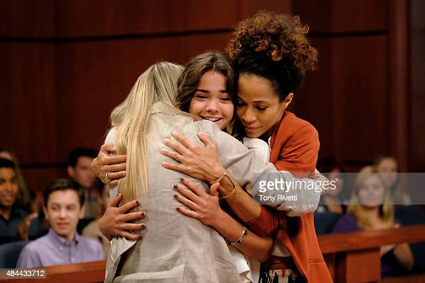THE FOSTERS 'Lucky' Stef and Lena host an anniversary party for Lenas parents while Callie faces the consequences of her actions in the summer finale...