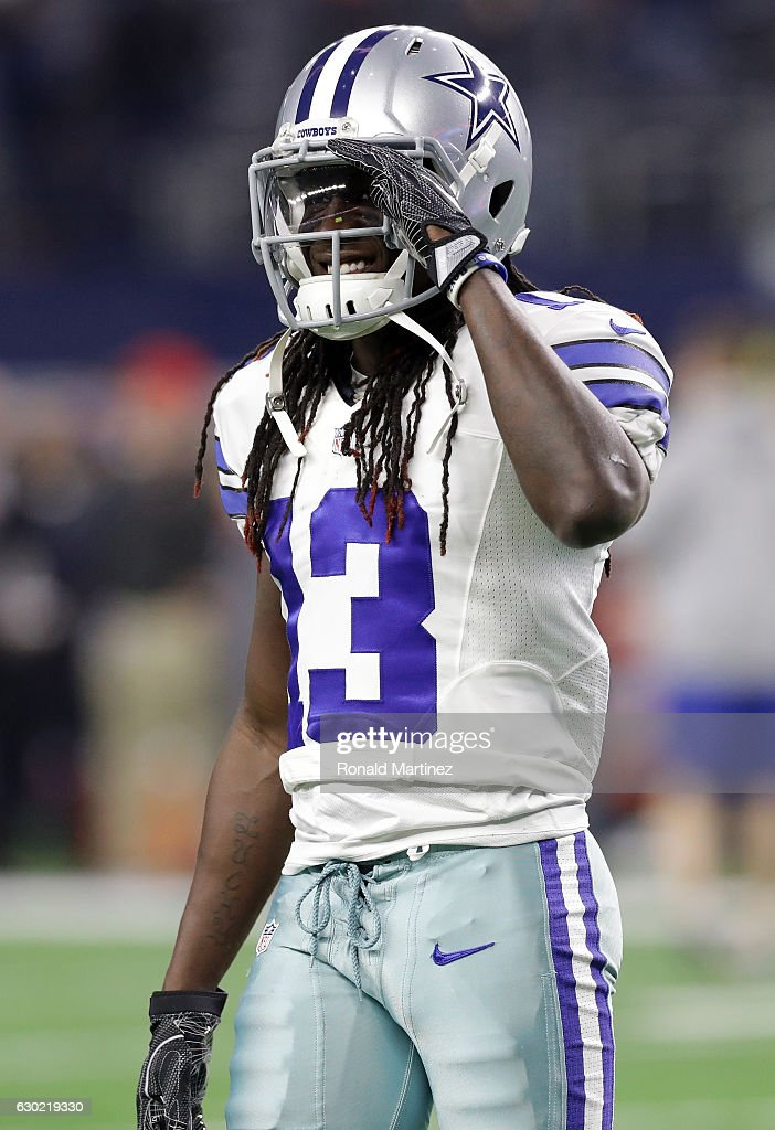 f2c7c730b04 (AP) Lucky Whitehead 13 of the Dallas Cowboys warms up on the field prior  to the ...