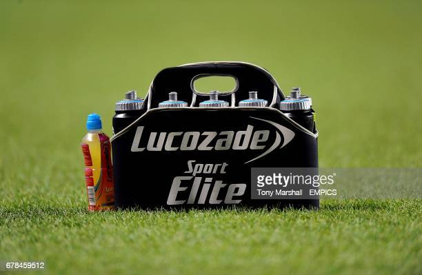 Lucozade drinks holder