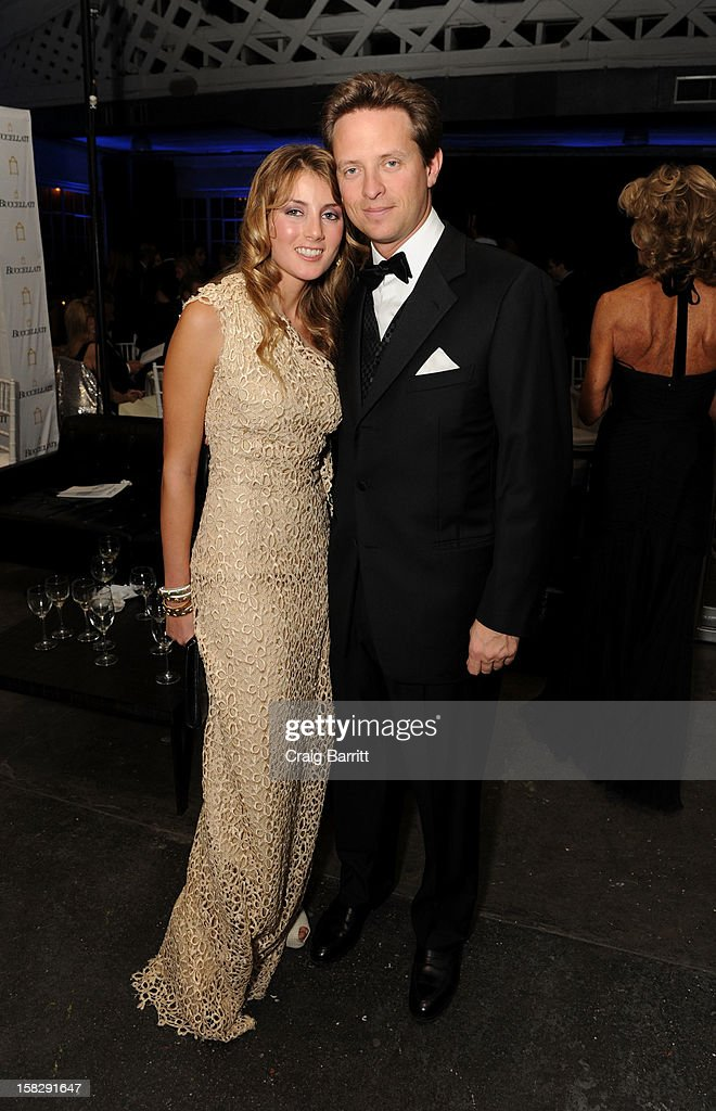Lucrezia Buccellati and David Wildenstein attend the TPC for the 2012 La Fondazione La Notte Gala Celebrating 60 years Of Excellence In the USA For Buccellati at Industria Studios on December 12, 2012 in New York City.