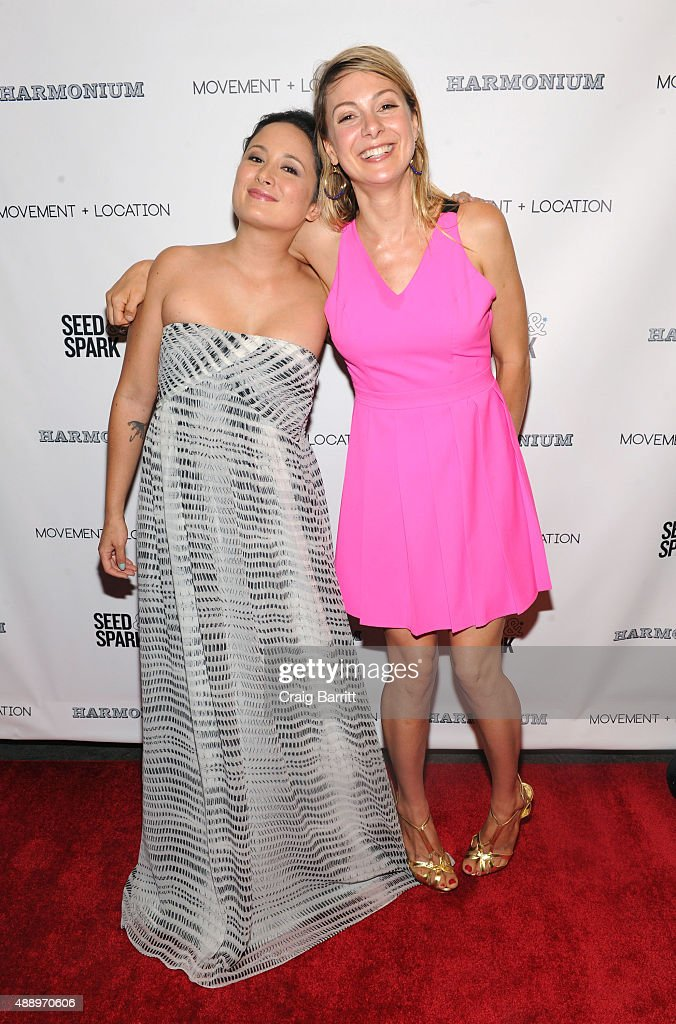 Lucy Alibar and guest attend the Movement Location NYC Premiere on September 18 2015 in New York City