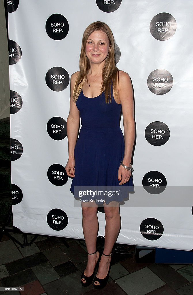 Lucy Alibar attends Soho Rep's 2013 Spring Gala on April 8 2013 in New York United States