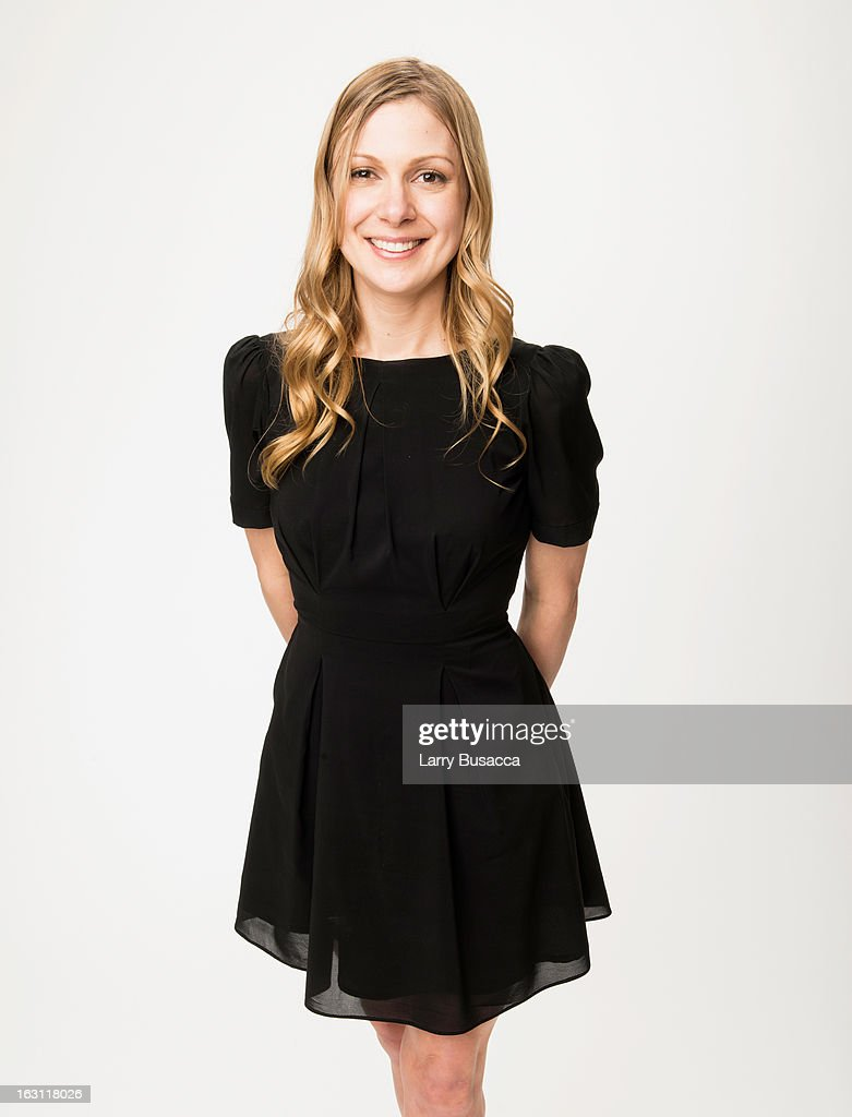 Lucy Alibar attends the Peoplecom portrait Gallery at the 85th Academy Awards Nominees Luncheon at The Beverly Hilton Hotel on February 4 2013 in...