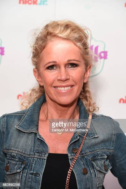 Lucy Benjamin attends the UK premiere for the brand new Nick Jr show 'Nella the Princess Knight' at 11 Cavendish Square on May 14 2017 in London...