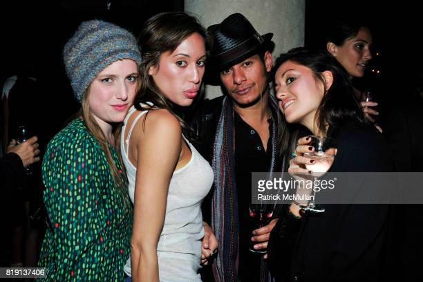 Lucy Best Colleen Murzyn Damien Anderson Elizabeth Murzyn attend NICOLAS BERGGRUEN's 2010 Annual Party at the Chateau Marmont on March 3 2010 in West...