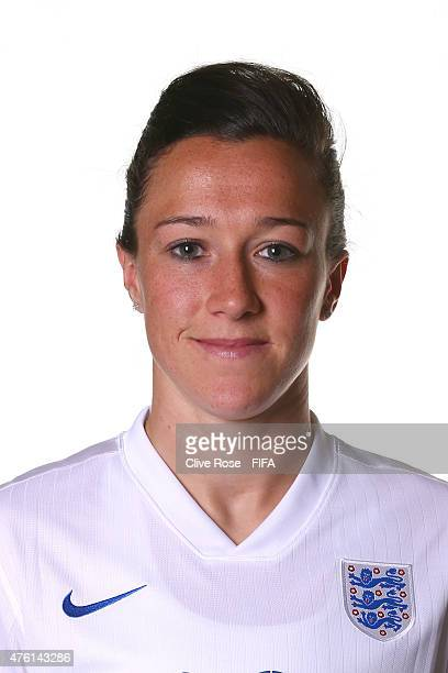 Lucy Bronze of England poses during a FIFA Women's World Cup portrait session on June 6 2015 in Moncton Canada