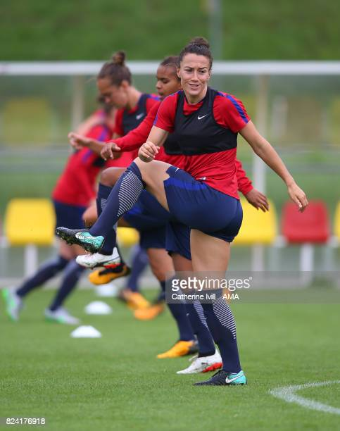 Lucy Bronze of England Women during the England Women's Training Session on July 29 2017 in Utrecht Netherlands