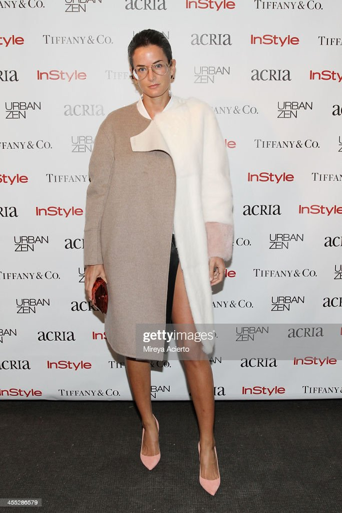 Lucy Chadwick attends the ACRIA annual holiday dinner benefiting AIDS research on December 11, 2013 in New York City.